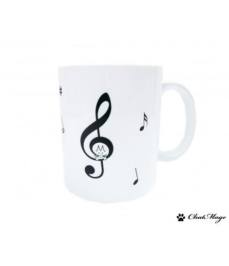 Mug, mug fée, tasse fée, mug silhouette, mug danseuse, nature, mug kawaii, ChatMage